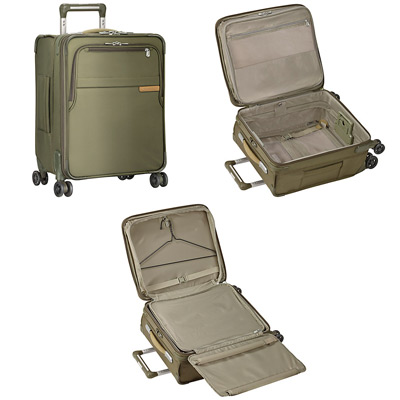 Briggs & Riley Baseline Carry On Expandable Spinner Cabin Suitcase