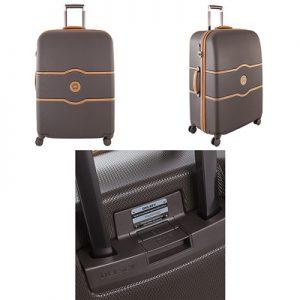 Delsey Chatelet Plus 77cm Suitcase