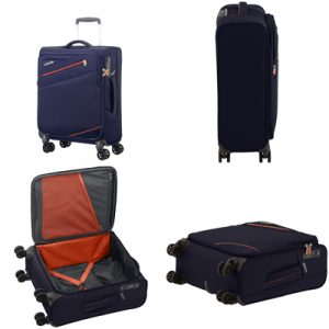 American Tourister Pikes Peak 55cm Spinner Suitcase