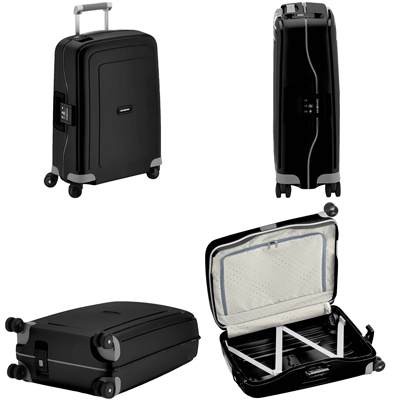 Samsonite S'Cure Cabin Spinner-55cm